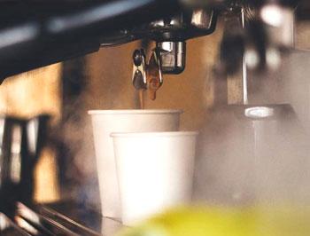 koffie-uitloop